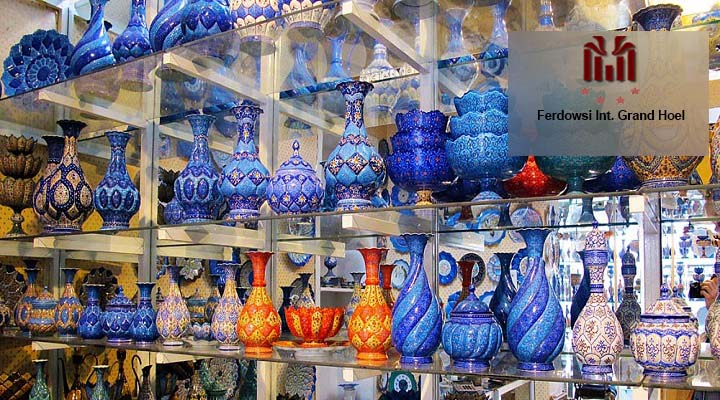 Souvenirs of Isfahan half of the world