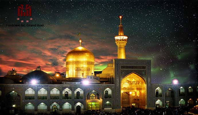"""The historically important transit city along the Silk Road, Mashhad "" The place of Martyrdom"